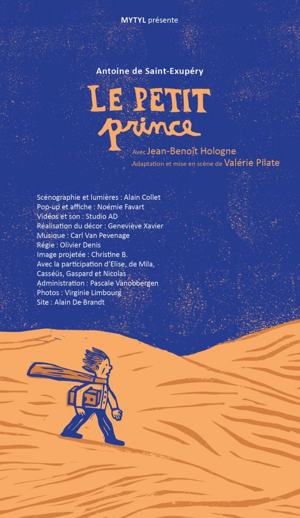 petit prince pop up